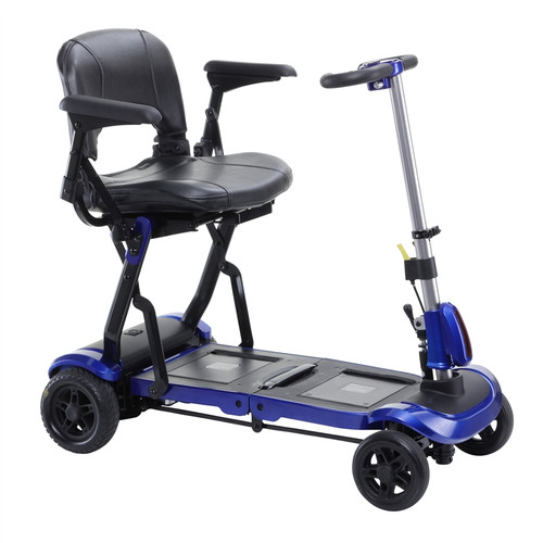 ZooMe Flex Ultra Compact Folding Travel 4 Wheel Scooter - FLEX