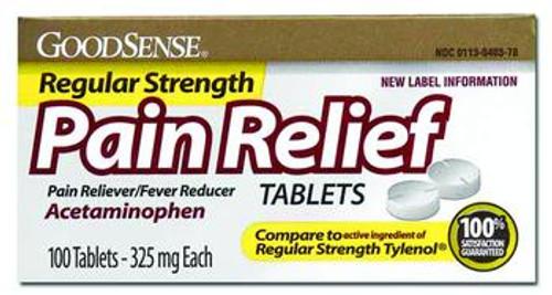 Acetaminophen Regular Strength Tablets