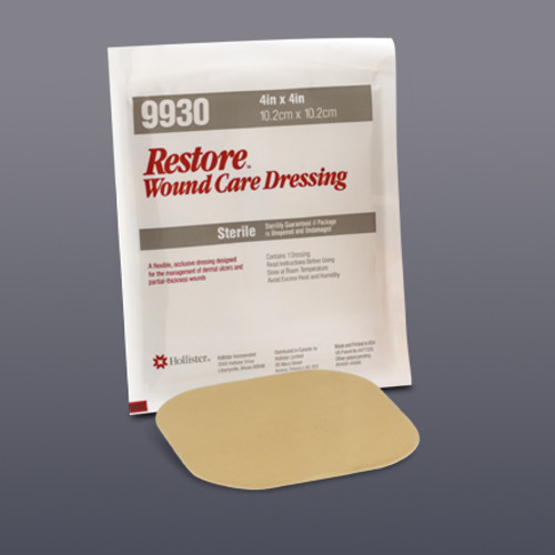 Restore Hydrocolloid Dressing with Foam Backing