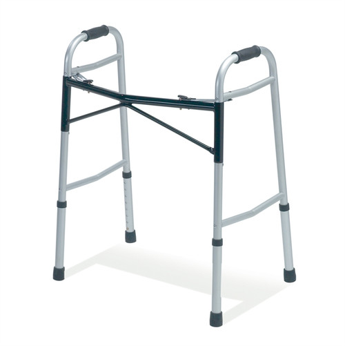 Bariatric Two-Button Folding Walker