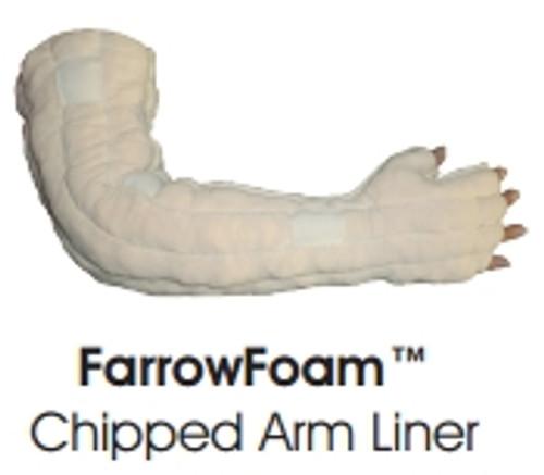 FarrowFoam Chipped Arm Liner Ivory Short/Regular (S-XL)