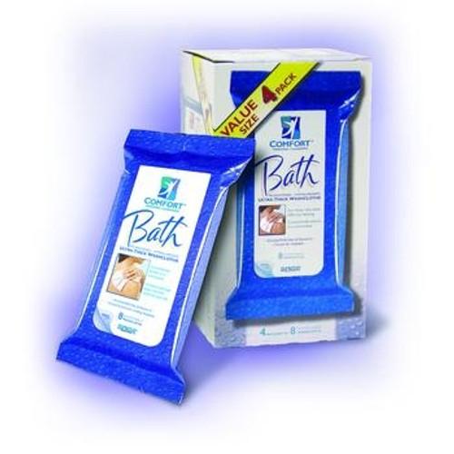 Comfort Bath Rinse-free Disposable Washcloths 1