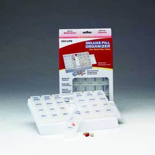 ACU-LIFE Deluxe 1 Week Today Pill Box