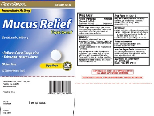 Cough Relief Mucus Relief
