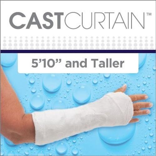 CAST CURTAIN - Tall Arm / Right Showerhead