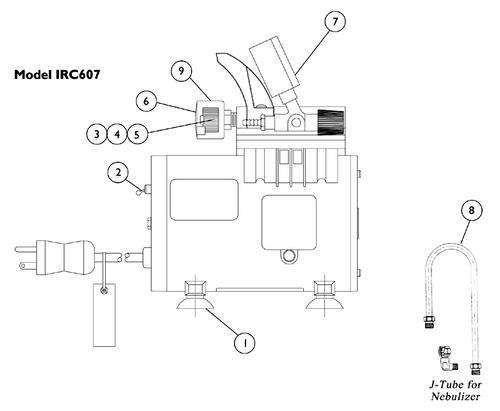 MOBILAIRE 50 PSI Compressor