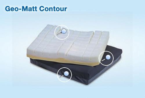 Geo-Matt Contour Cushion