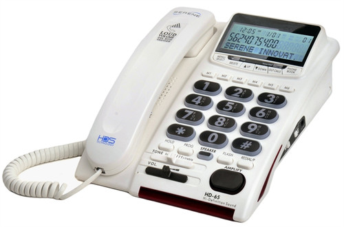 Serene Innovation HD-65 Amplified Telephone