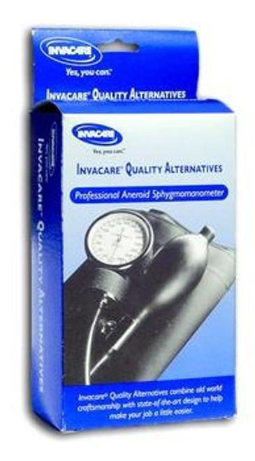 Invacare Professional Aneroid Sphygmomanometer with Nylon Cuff, Pre-gauged