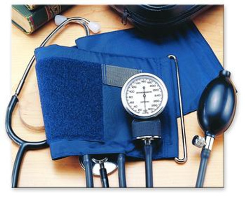 Invacare Self-Monitoring Home Blood Pressure Kit with Attached Stethoscope