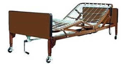 single motor semi-electric home care bed package