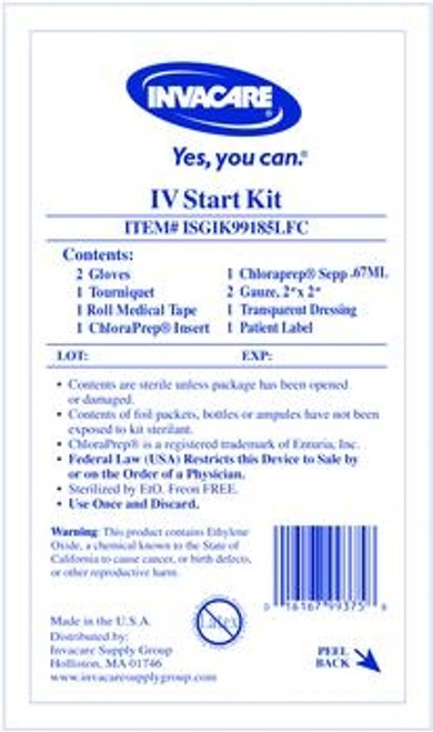 IV Start Kit with ChloraPrep
