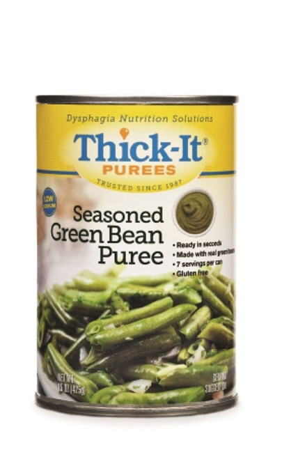 Puree ThickIt Can Seasoned Green Bean Ready to Use Puree