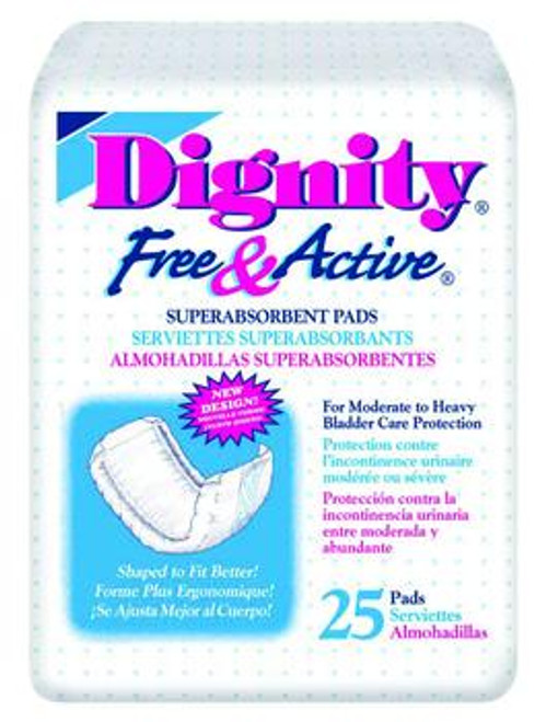 Free & Active Disposable Super Absorbent Pad