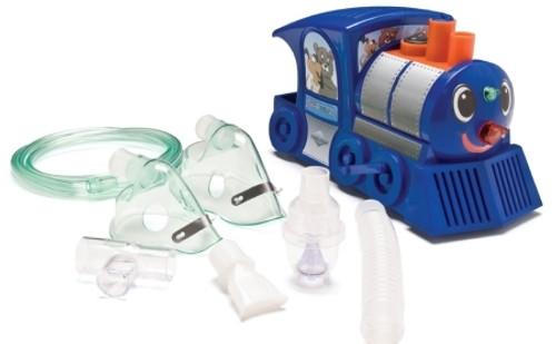 Neb-U-Tyke Train Compressor Nebulizer System Small Volume Pediatric Aerosol Mask / Mouthpiece