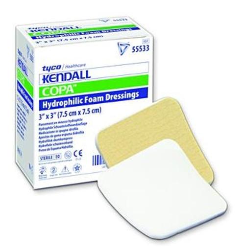 kendall copa hydrophilic foam dressing
