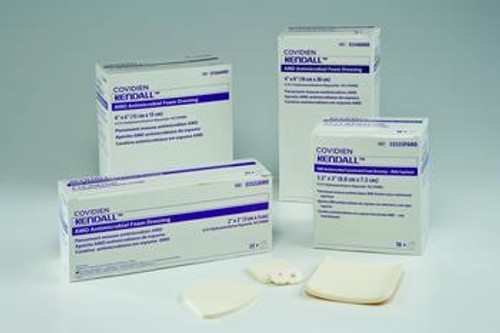 kendall amd antimicrobial foam dressings