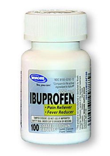 Invacare Ibruprofen 200 mg Brown Caplets