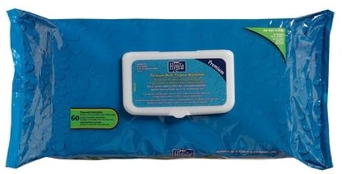 Personal Wipe Hygea Premium Soft Pack Aloe / Vitamin E Scented Count