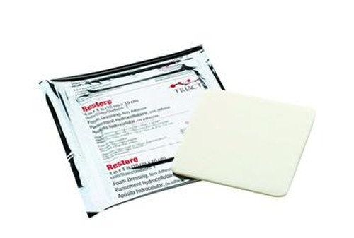 Restore Non-Adhesive Foam Dressing with TRIACT Technology
