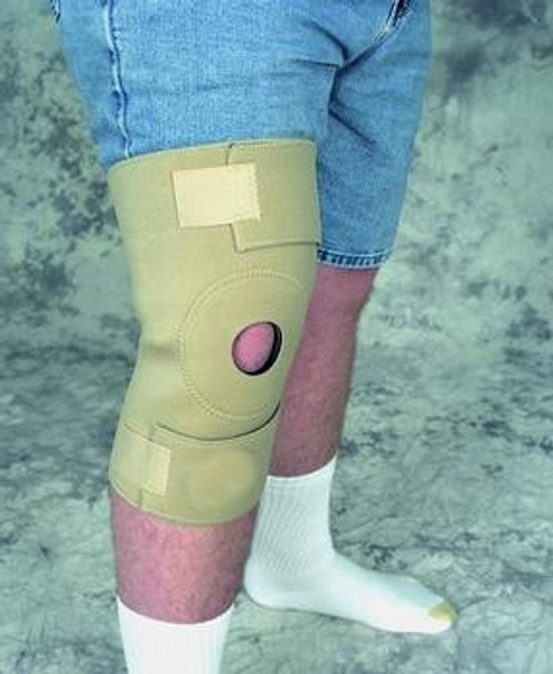 extended size knee wrap