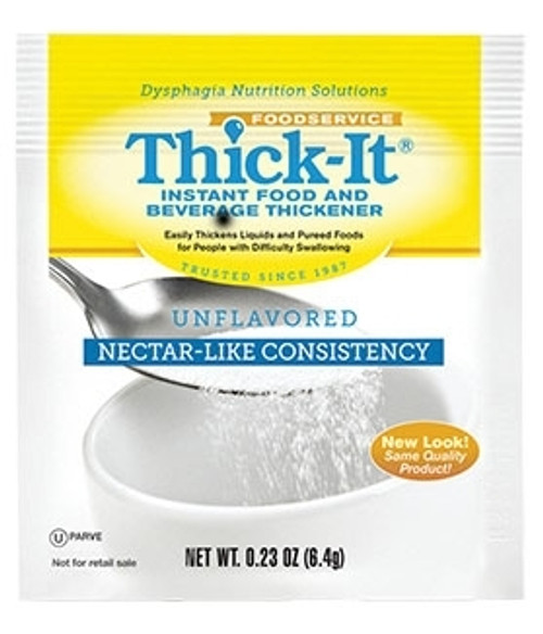 Food and Beverage Thickener Thick-It 4.8 Gram Individual Packet Unflavored Powder Nectar Consistency