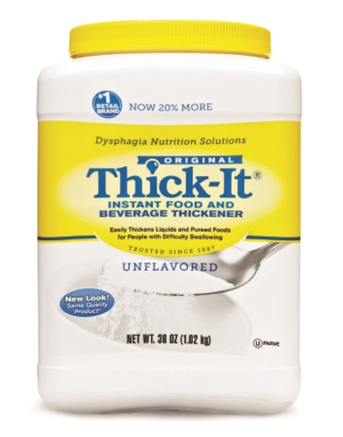 Food Thickener Thick-It 36 oz. Canister Unflavored Ready to Use Consistency Varies By Preparation