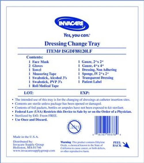 Central Line Dressing Change Kit with Tegaderm