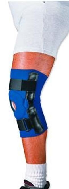 invacare neoprene hinged knee support