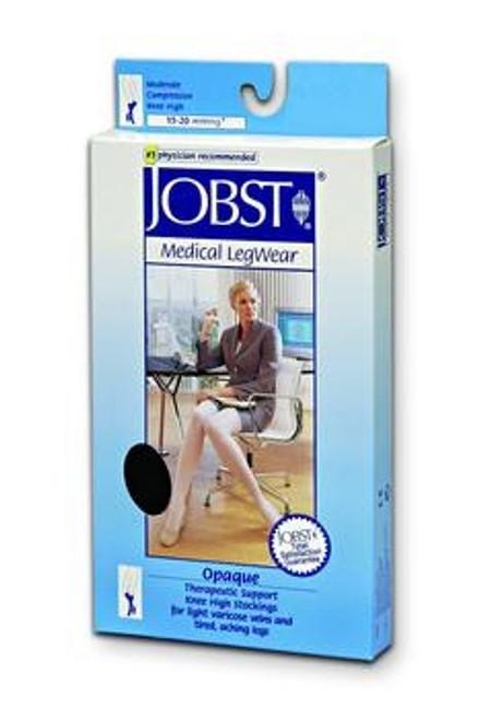 opaque knee high stockings, 15 - 20 mmhg