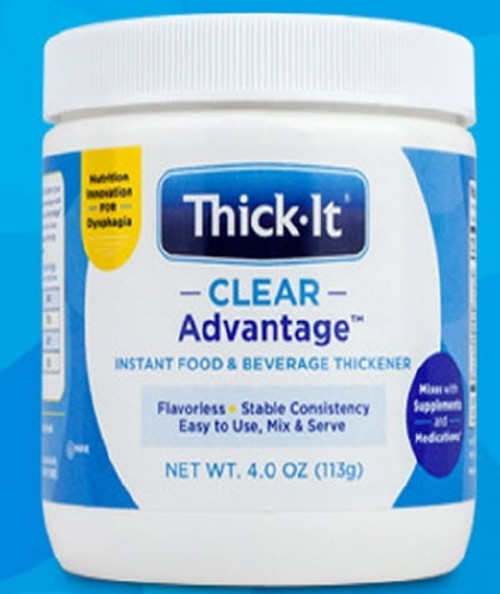 Food and Beverage Thickener Thick-It Clear Advantage 4 Oz. Jar Unflavored Ready to Mix