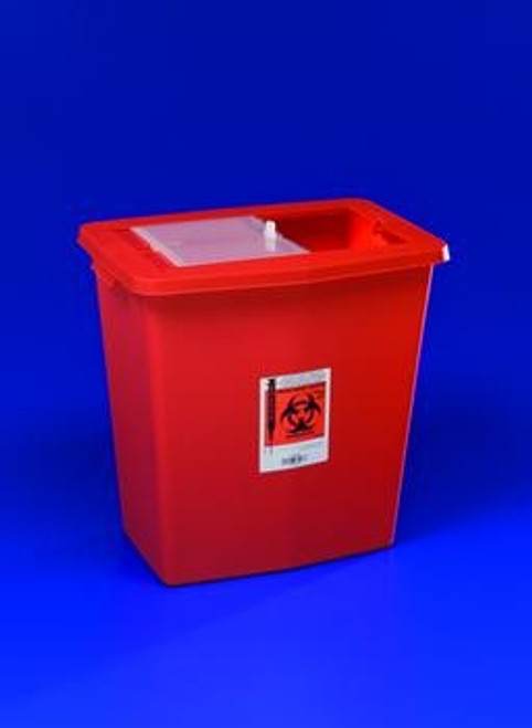 Large Volume Containers with Sliding, Sealing Gasket Lids