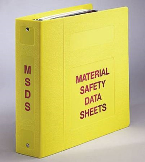 Data Binder Ring Yellow