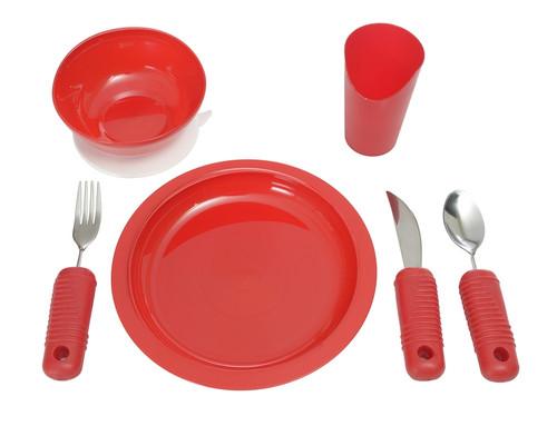 Power of Red Adaptive Dinnerware