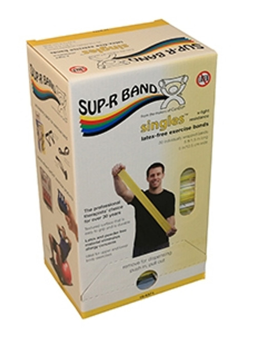 supr band latexfree 5foot singles 30 piece dispenser
