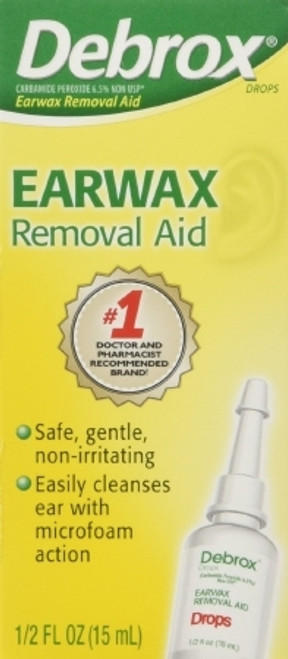 First Aid Only Inc. Debrox Earwax Removal Aid