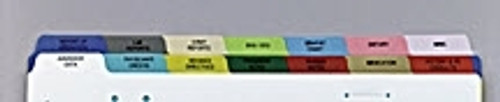 First Healthcare Products Divider Chart Poly Side O
