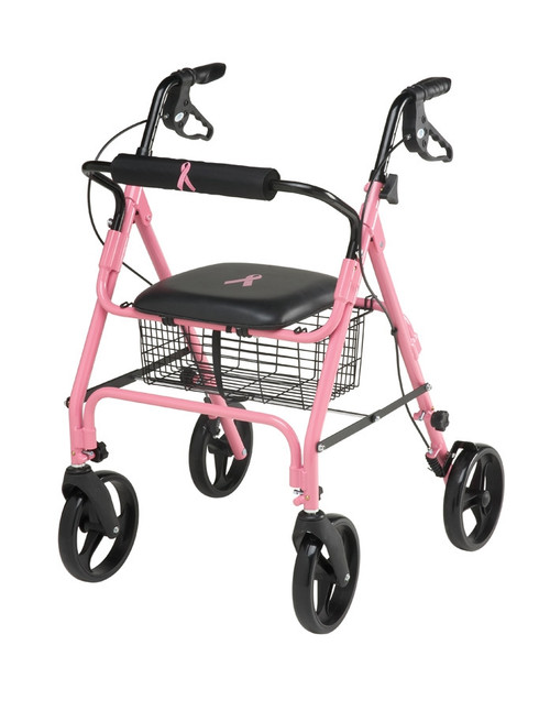 Breast Cancer Awareness Rollator - Pink