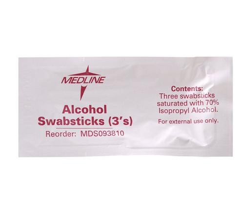 Sterile Alcohol Swabsticks