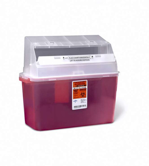 Patient Room Sharps Containers - 5 qt, Wall/Free