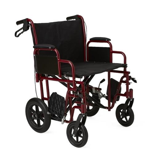 Bariatric Transport Chair, Hammertone
