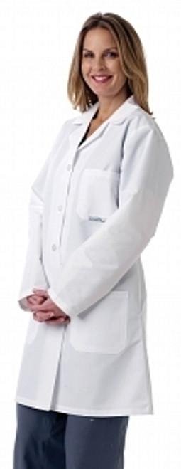 Ladies' Full Length Lab Coat, White