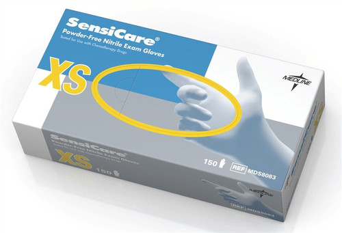 SensiCare Nitrile Exam Gloves, Blue