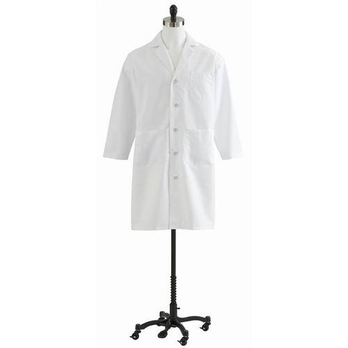 Unisex White Full Length Lab Coat