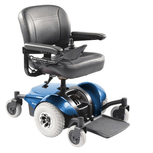 Pronto M41 Power Wheelchair - Med Back, Fold-Down Seat