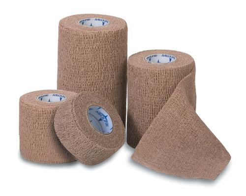 Non-Sterile Latex Co-Flex Bandages, Red