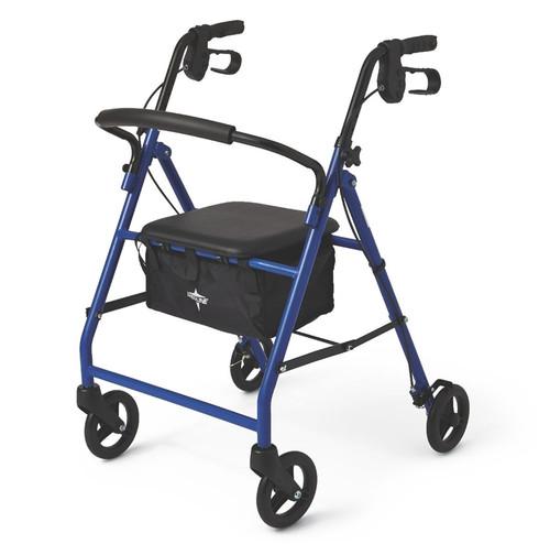 "Basic Steel Rollator with 6"" Wheels"