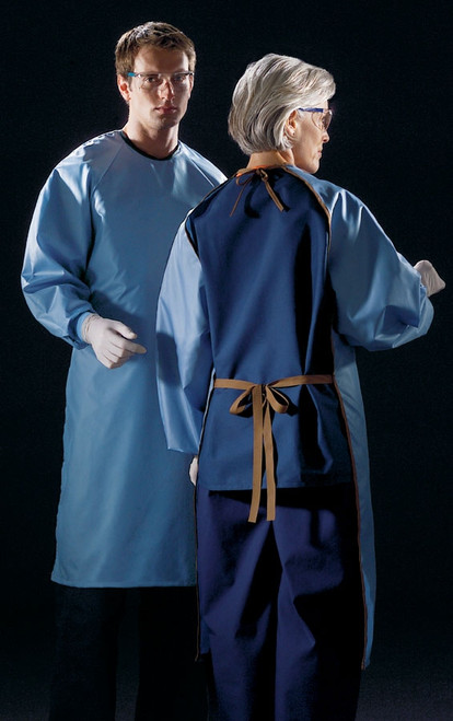 Unisex ASEP A/S Barrier Backless Surgical Gown