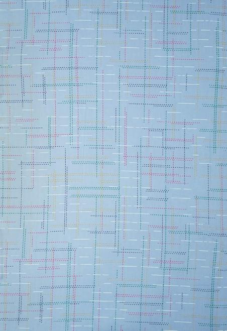 Tieside Patient Gowns, Spectrum Blue Print