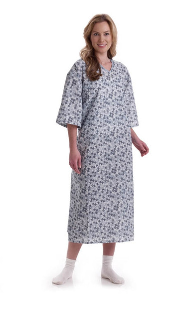 Patient IV Gowns, Deluxe Galaxy Print